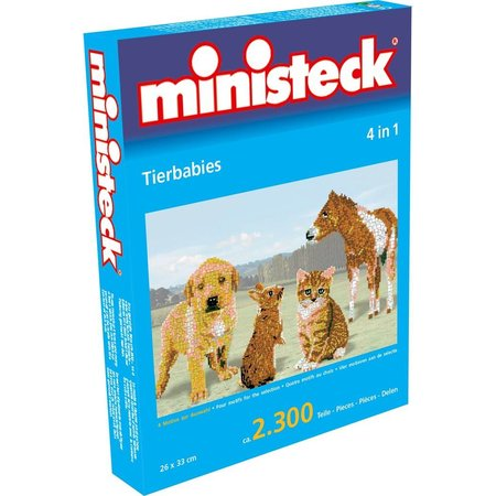 Ministeck Dierenbabies Ministeck 4-in-1 2300-delig