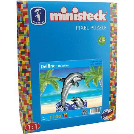 Ministeck Dolfijn Ministeck XL 1100-delig