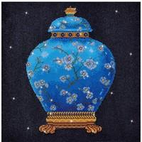 Blue Vase Diamond Dotz: 52x52 cm