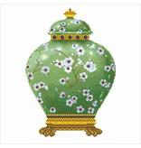 Diamond Dotz Green Vase Diamond Dotz: 52x52 cm