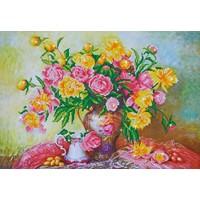 Elegant Roses Diamond Dotz: 67x47 cm