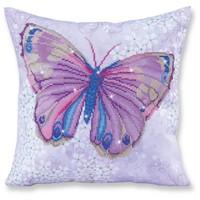 Butterfly Purple Diamond Dotz: 44x44 cm