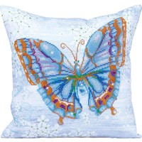 Butterfly Blue Diamond Dotz: 44x44 cm