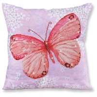 Butterfly Orange Diamond Dotz: 44x44 cm