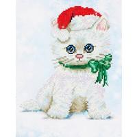 Chrissy Kitty Diamond Dotz: 27x35 cm