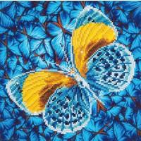 Flutter by Gold Diamond Dotz: 30x30 cm