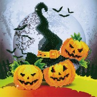 Halloween Magic Diamond Dotz: 32x32 cm