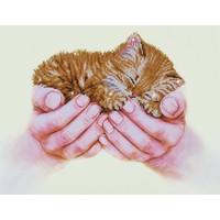 Precious Kitten Diamond Dotz: 52x40 cm