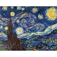 Starry Night by Van Gogh Diamond Dotz: 51x40 cm