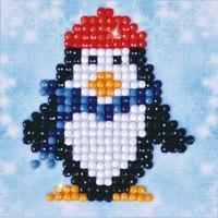 Penguin Waddle Diamond Dotz: 7x7 cm