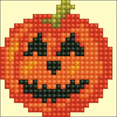 Diamond Dotz Happy Halloween Diamond Dotz: 7x7 cm