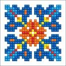 Diamond Dotz Autumn Mandala 1 Diamond Dotz: 7x7 cm