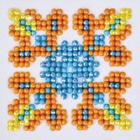 Autumn Mandala 2 Diamond Dotz: 7x7 cm