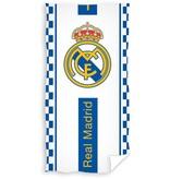 Real Madrid Badlaken real madrid wit/blauw blocks 70x140 cm