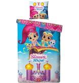 Shimmer & Shine Dekbedovertrek Shimmer & Shine 140x200/60x70 cm