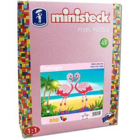 Ministeck Flamingo´s Ministeck 800-delig