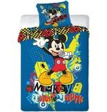 Mickey Mouse Dekbedovertrek Mickey Mouse rock 140x200/70x80 cm
