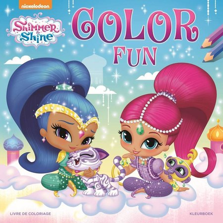Shimmer & Shine Kleurboek Shimmer & Shine color fun
