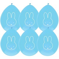 Ballonnen Nijntje: blauw - 6 stuks
