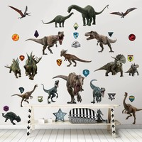 Muursticker Jurassic World Walltastic 88 stickers
