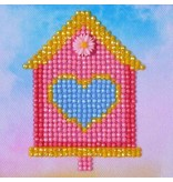 Diamond Dotz Home Sweet Home Diamond Dotz: 10x10 cm