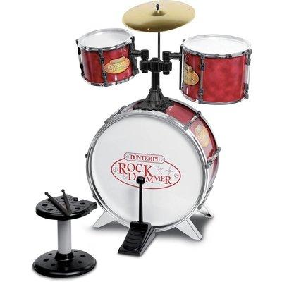 Bontempi Drumstel Bontempi Genius incl. kruk 4-delig