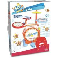 Drumstel Bontempi Baby incl. keyboard en stoel