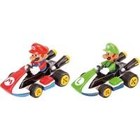 Auto Pull & Speed Mario Kart 8 Mario/Luigi - 2-pack