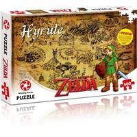 Puzzel Zelda: Hyrule 500 stukjes