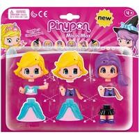 Speelfiguur Pinypon: prinses en heks