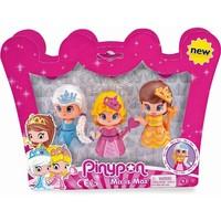 Speelfiguur Pinypon: prinsessen 3-pack