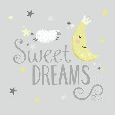 Muursticker Roommates Sweet Dreams Sinqel