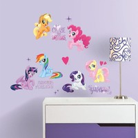 Muursticker My Little Pony RoomMates Movie