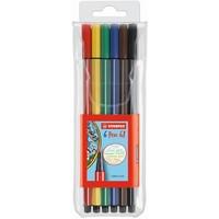 Viltstiften Stabilo pen 68 6 stuks