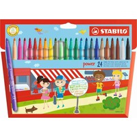 Viltstiften Stabilo power 24 stuks