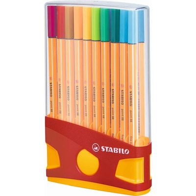 Stabilo Fineliners Stabilo Point 88 colorparade 20 stuks