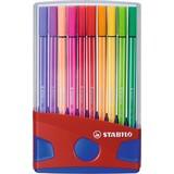 Viltstiften Stabilo pen 68 colorparade 20 stuks