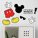 Mickey Mouse Muursticker Mickey Mouse RoomMates