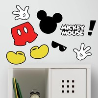 Mickey Mouse Muursticker.Muursticker Mickey Mouse Roommates Mickey Mouse Sinqel