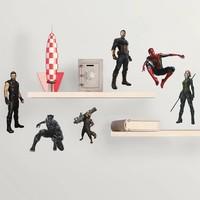 Muursticker Avengers RoomMates Infinity War
