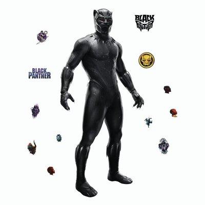 Black Panther Muursticker Avengers RoomMates Black Panther
