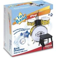 Drumstel Bontempi Play incl. kruk 4-delig
