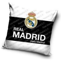 Real Madrid Kussen wit/zwart/wit 40x40 cm