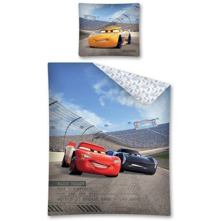 Cars Dekbedovertrek Cars downforce 140x200/70x80 cm