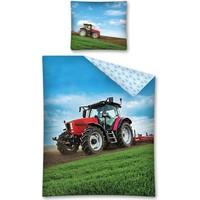 Dekbedovertrek tractor 140x200/70x80 cm