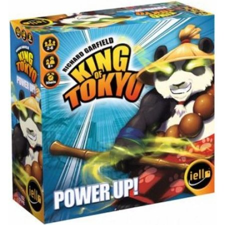 Iello Games King of Tokyo Power Up expansion