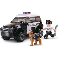 Politieauto met honden Sluban 78 stuks