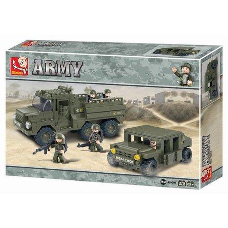Sluban Army ranger Sluban 379 stuks