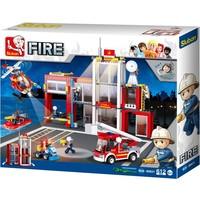 Brandweerkazerne Sluban 607 stuks