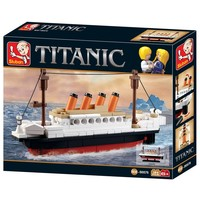 Titanic klein Sluban 194 stuks